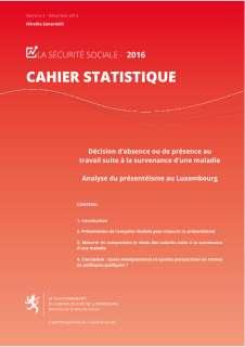 Cahier statistique n° 4